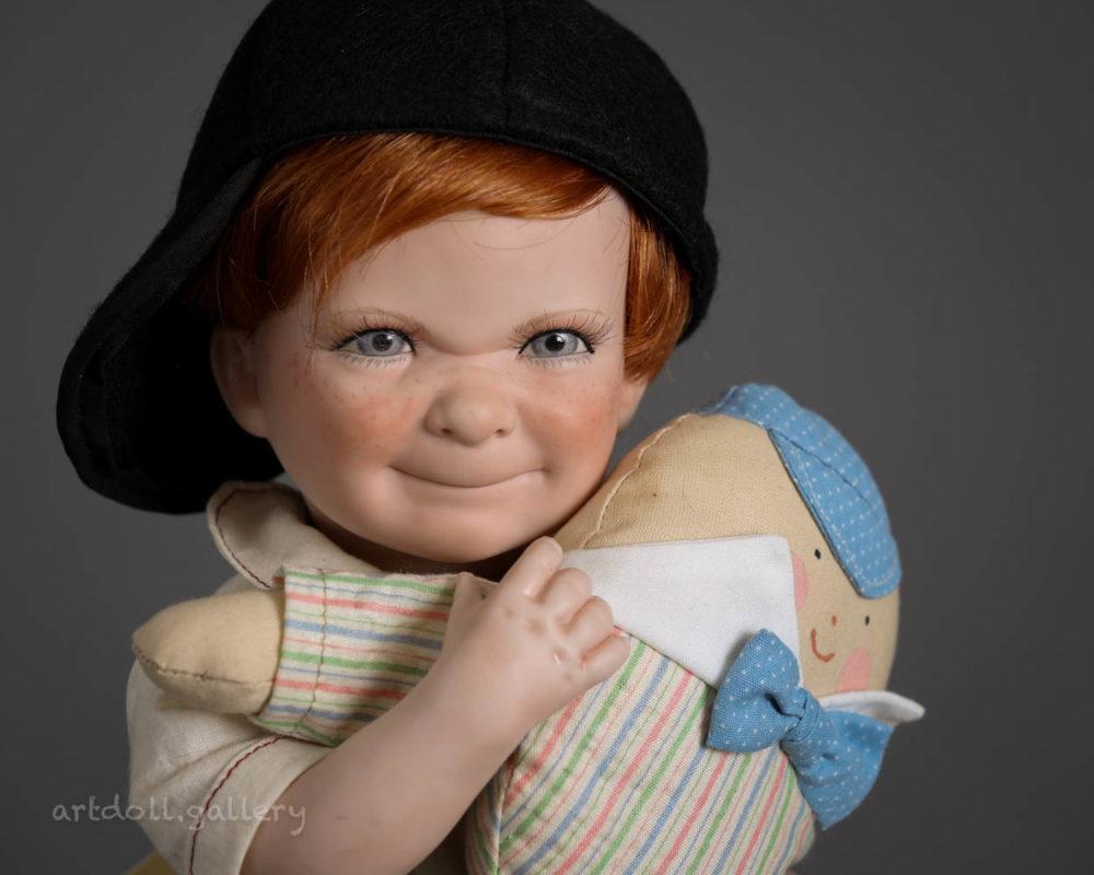 Cody Art Doll by Linda Steele