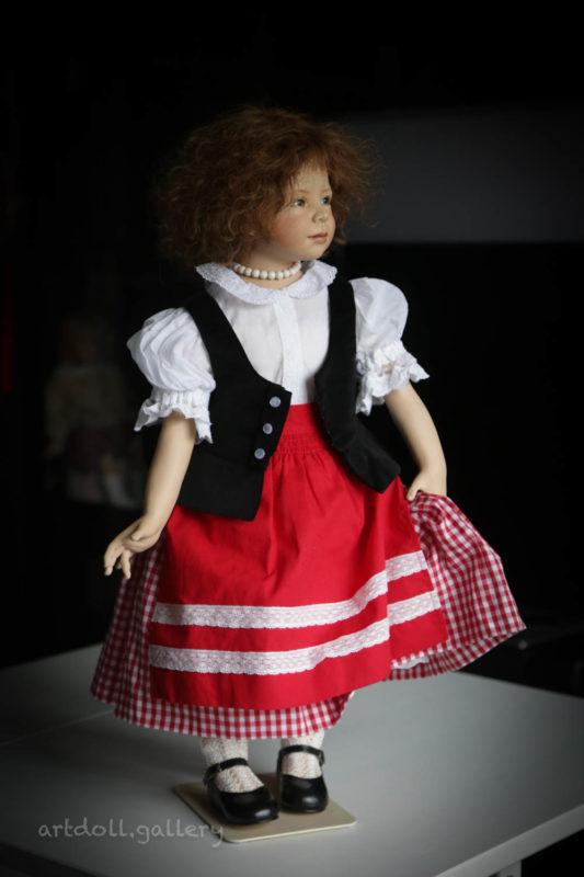 Doreen Art Doll by Heidi Plusczok