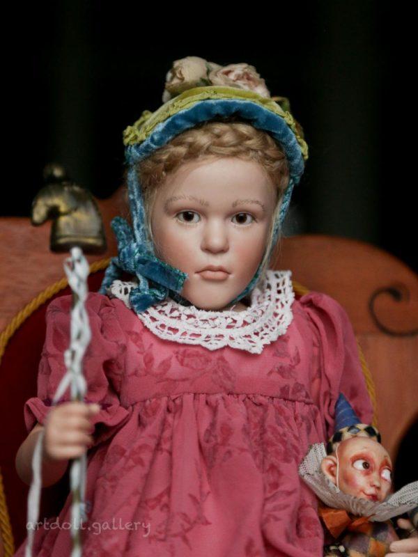 Lisa Art Doll by Sabine Esche