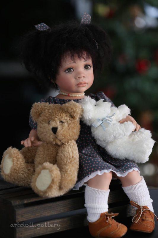 Paloma Art Doll by Linda Steele