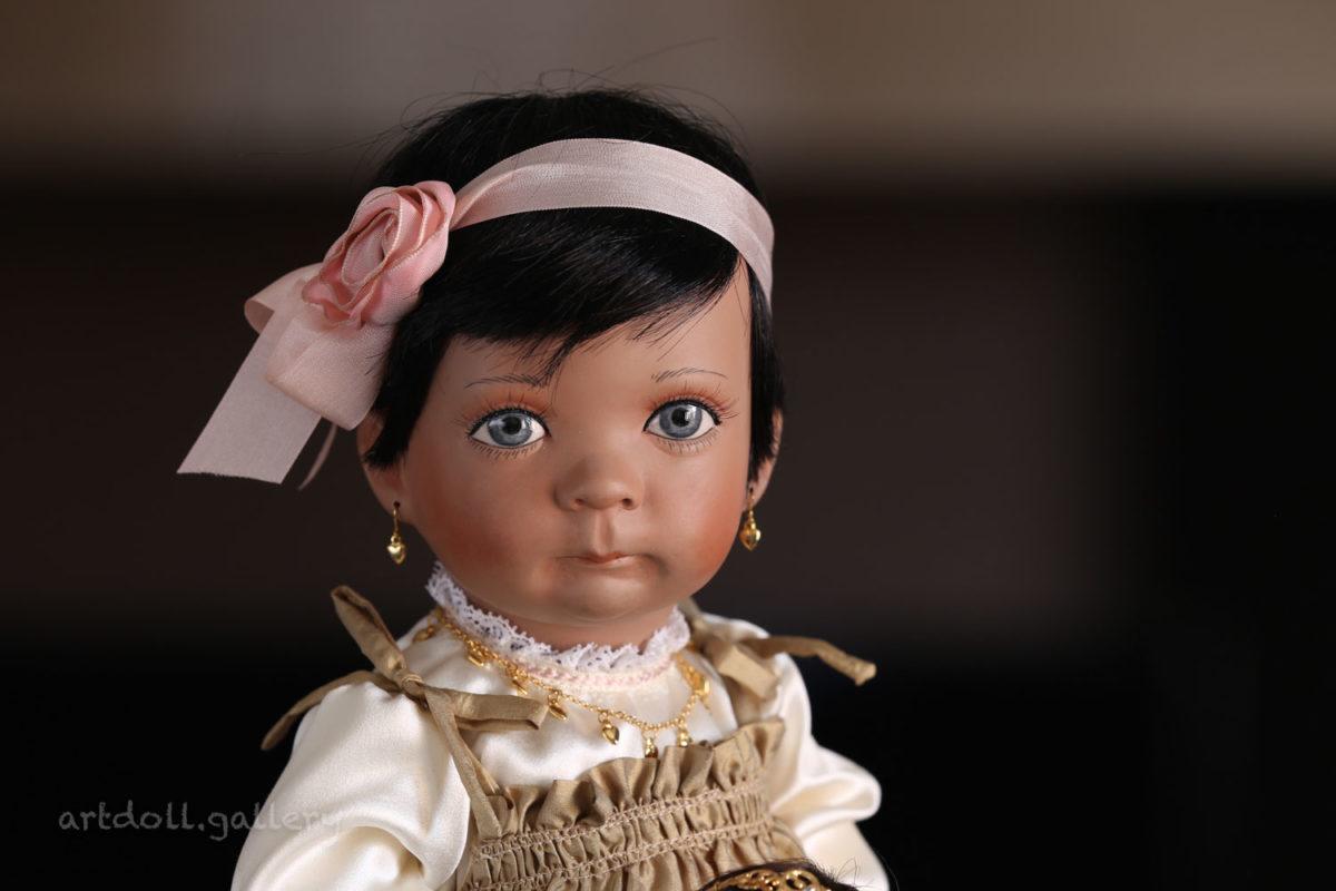 Shalamar Art Doll by Linda Steele