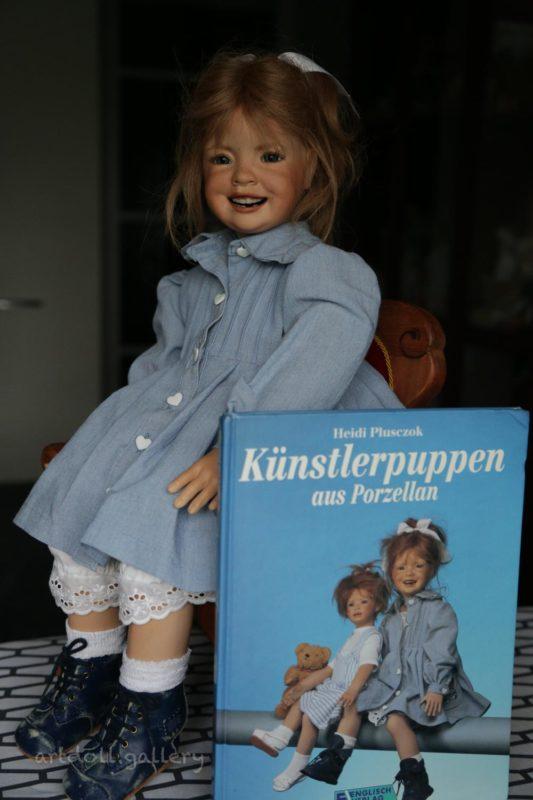 Binchen Art Doll by Heidi Plusczok
