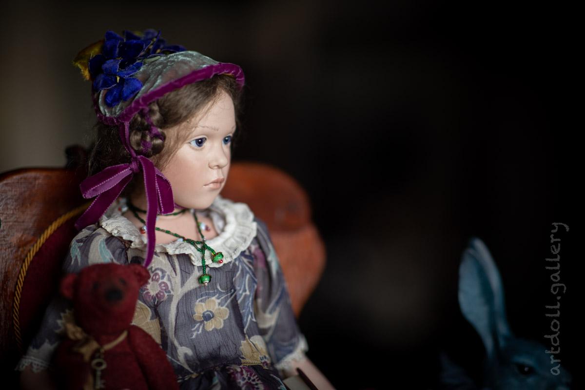 Flora Art Doll by Sabine Esche