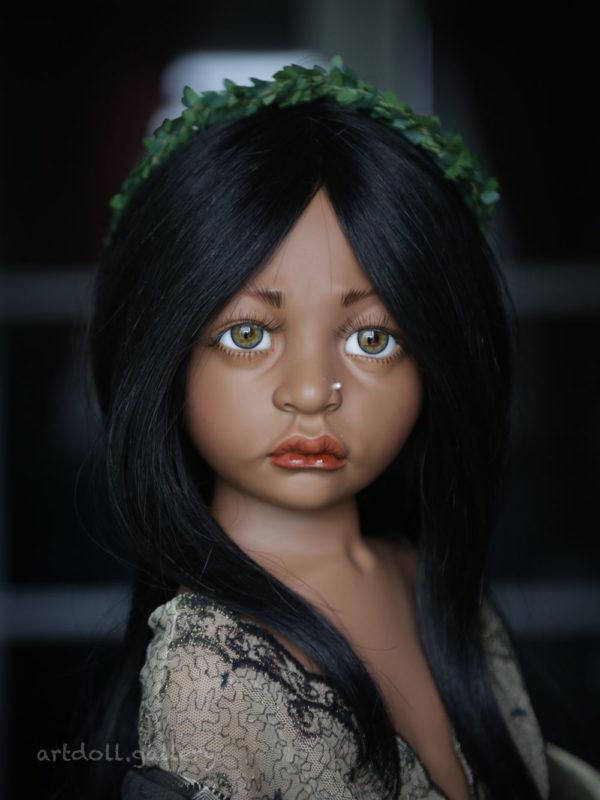 Precious Ethnic Art Doll by Philip Heath