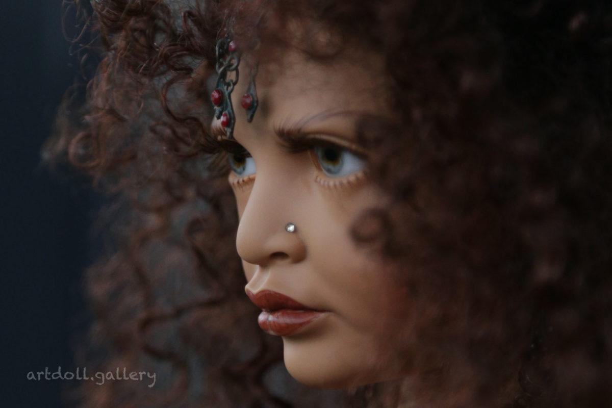 Ulia Found Art Doll by Philip Heath