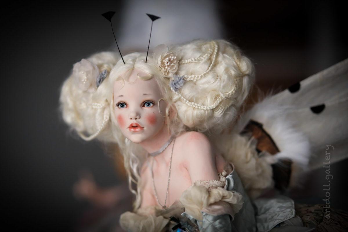 Moon Art Doll by Alisa Philippova