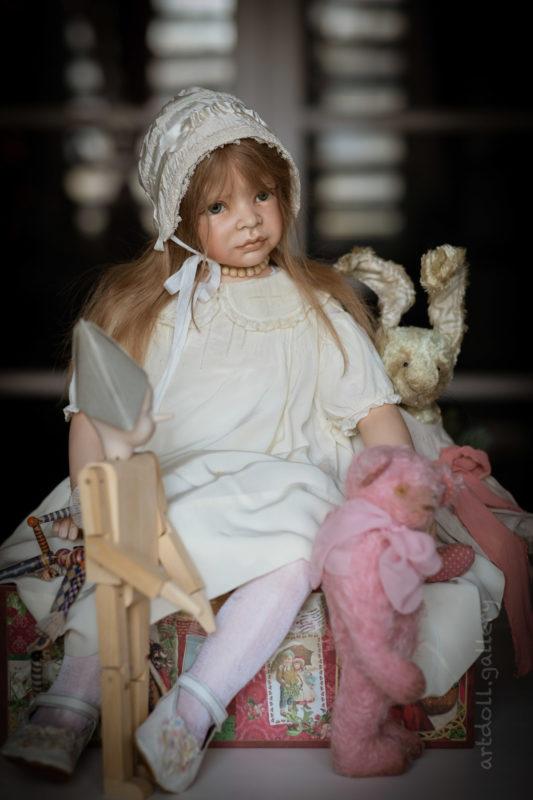 Silke Art Doll by Heidi Plusczok