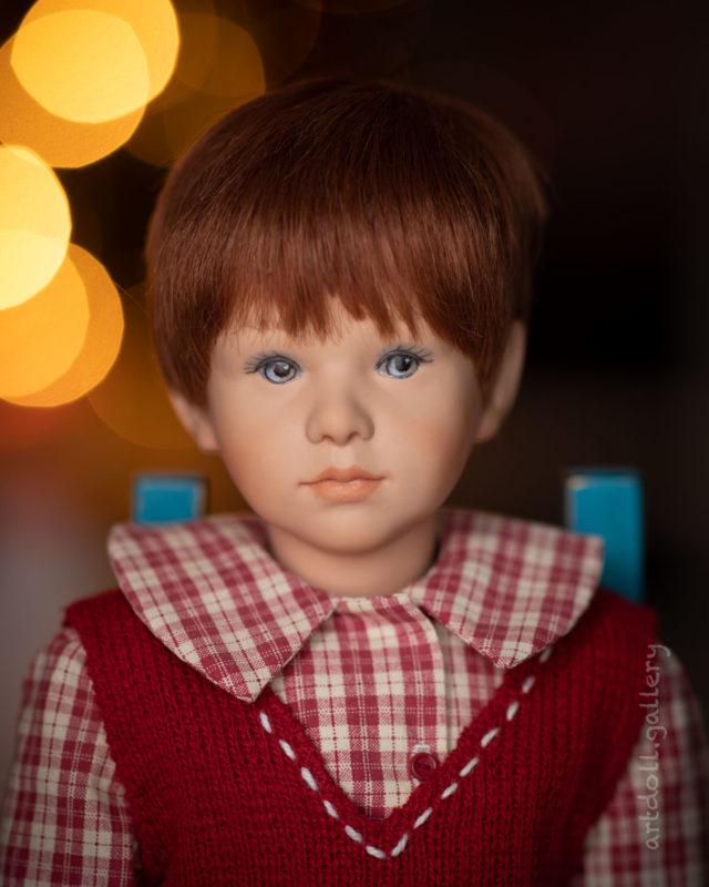 Tommy Art Doll by Jutta Kissling