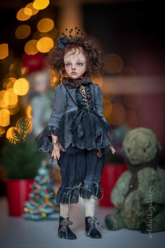 Vanille Art Doll by Kira Kinysh