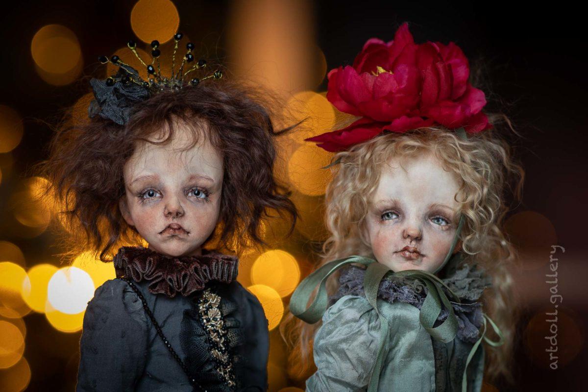 VanilleOregano Art Doll by Kira Kinysh