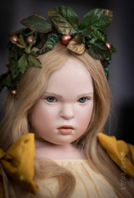 Amarela Art Doll by Sabine Esche